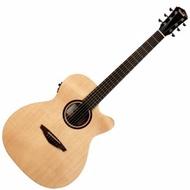 Veelah V1-OMCE V1 雲杉單板/側背桃花心木 41吋 民謠吉他 電木吉他 OM桶 含拾音器