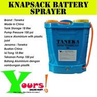 TANEKA TNK18L Knapsack Battery Sprayer 18 liter (Chemical) / TANEKA TNK18L Penyembur Bateri Sandang 18 liter (Racun)