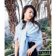 【Vintage Shades】100% Cashmere圍巾 水藍情人/黑海情人