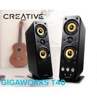 『高雄程傑電腦』創新未來 Creative GigaWorks T40 SeriesII T40II 現貨【實體店家】