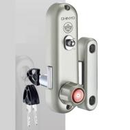 647 青葉牌鋁門鎖 700型鋁門鈎鎖 排片鑰匙 三代 鎖心長38mm 鋁門平鎖 勾鎖