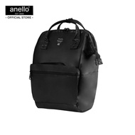 anello กระเป๋าสะพายหลัง Regular W-Proof Classic Backpack-anello lining -OS-N016 - BLACK