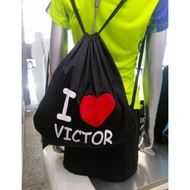 🏸SOSA羽球超市🏸VICTOR 束口袋 I LOVE VICTOR