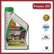 FEOSO OIL Semi Synthetic 4T Motorcycle Engine Oil/Semi Synthetic 4T MInyak Enjin Motosikal SAE 15W-40