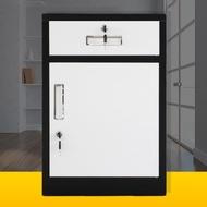 活動櫃  文件櫃矮櫃資料鐵皮儲物櫃帶鎖不銹鋼醫用床頭櫃桌下活動櫃小櫃子