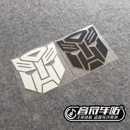 Notes Car Auto Reflective Car Stickers Transformers