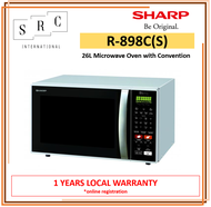 Sharp R-898C(S) Microwave Oven with Convection 26L