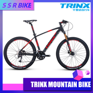 TRINX X1 Variable Shock Absorption Mountain Cross Country Men's And Women's 27 Speed Student Aluminum Alloy Bike