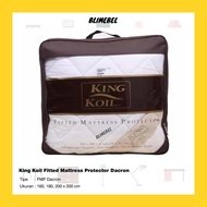 King Koil Fitted Mattress Protector Dacron / Blimebel Kingkoil Bed Mattress Protector
