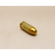 < WLder > M1911 湯姆森 .45手槍 裝飾彈 金 (操作槍道具槍擺飾品子彈模型彈殼假彈道具彈11.46mm X 23mm