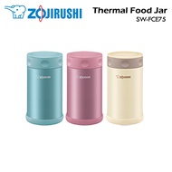 Zojirushi Stainless Steel Thermal Food Jar SW-FCE75 / Authetic Local Set / Made in Japan