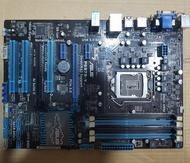 華碩 P8B75-V 主機板、1155腳位、CPU座針腳完整【 過電不開機、報帳或維修用 】