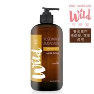 Wild Hair Care 有機髮 聖母玫瑰檸檬草豐盈潤澤洗髮精 473mL