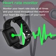 smart watch 116 Plus Smart Watch Blood Pressure Heart Rate Monitor Waterproof Watch Smart Band Fitness