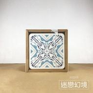 比漾選物 【MBM】台灣京瓷-花磚珪藻土杯墊組_迷戀幻境