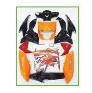 Honda Wave Dash 110 V1 100% Original Honda Cover Set With Sticker Body