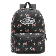 VANS - VN0A3UI6UV3 Satin Floral Realm Backpack 後背包 (黑色) 化學原宿