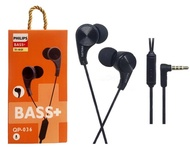 Henset Realme Philips 036 Magnet Super Bass - Stereo Earphone Henset AT-036 QP-036 Bass+ Grade A