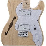 【成功樂器 . 音響】Fender Japan Traditional 70s Tele Thinline 半空心 琴身原木