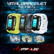 [READY STOCK] Digimon Digivice Digital Monster Vital Bracelet / Dim Cards (English Settings)