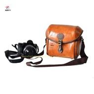 Soft Leather Camera Shoulder Case bag For Canon EOS M50 EOS M5 EOS M100 EOS M10 EOS M6 EOS M3