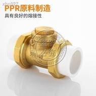 ☇♀PPR止回閥黃銅臥式立式止回閥逆止閥單向閥20 4分PPR水管管材配件