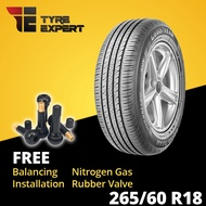265/60R18 GOODYEAR EfficientGrip Performance SUV (Installation) tyre tayar