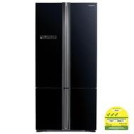 Hitachi RWB735P5MS 4 Door French Bottom Fridge