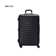 【加賀皮件】SUMDEX CLEO 多色 可擴充加大 PC 菱格 行李箱 25吋 旅行箱 SWR-1552