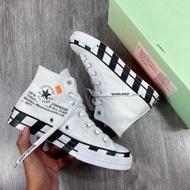 รองเท้า CONVERSE CHUCK TAYLOR 70'S X OFF WHITE PREMIUM รองเท้าคอนเวิร์สแท้