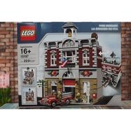 [樂GO] LEGO 樂高 10197 街景系列 消防局
