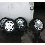 BENZ W220 S600 鋁圈 W124 W210 W221 5/112