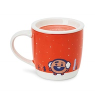 BT21 Official Merchandise by Line Friends - SHOOKY Character Winter Ceramic Mug Cup