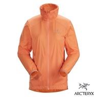 Arcteryx 始祖鳥 女 Nodin 抗UV 防風 防潑水 風衣外套 新粉橘