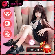 Sex Doll 98cm Cute TPE Doll Silicone Simulator Sexy Ddult Products Alloy Skeleton New Products Sex Doll Sex Toys