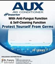 AUX 1HP Split Type Inverter Aircon