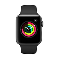 Apple Watch Series 3 GPS 太空色鋁金屬錶殼+黑色運動錶帶42mm/38mm【6期零利率】