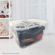 portable multipurpose Storage Box Tesco Multipurpose Storage Box (90L) M8731NC