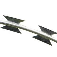304不銹鋼鍍鋅刀片刺繩船舶圍牆防爬防盜網倒刺圍欄網牆刺帶刺網 伊卡萊生活館