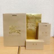 Burberry精品專櫃紙袋 紙盒