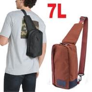 【美國 The North Face】新款 7L 多功能耐磨單肩側背包.斜背包/3G8K 桔色 N