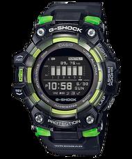 CASIO G-SHOCK 半透明測速運動藍芽錶 - 黑色 (GBD-100SM-1)