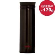 THERMOS膳魔師 極輕量不鏽鋼真空保溫杯350ml-咖啡色【JNO-351】(MF0359SK)