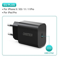 ZZOOI CHOETECH USB Type C PD Charger 18W for iPad iPhone 11 pro Quick Charge 4.0 QC 3.0 Fast Wall Charger for huawei samsung xiaomi