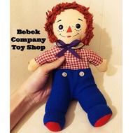 🇺🇸1980s raggedy Ann & Andy 美國 安娜貝爾 古董娃娃 古董玩具 絕版 11吋/28cm