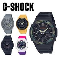 【G-SHOCK】GA-2100 農家橡樹系列 CASIO雙顯碳纖維核心/45mm/公司貨【第一鐘錶】