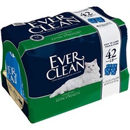 EVER CLEAN 藍鑽 藍標 貓砂 42磅 42LB 袋砂 礦砂 破碎砂 球砂 放克貓