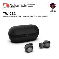 Nakamichi TW211 IPX7 Waterproof Bluetooth 5.0 True Wireless Earbuds with Qualcomm APTX QCC3020