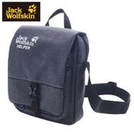【Jack Wolfskin 飛狼】HELPER 超耐磨旅行側背包 秘書包『黑色』