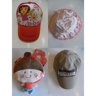 現貨🌤 兒童帽 Dora卡通帽👒 🆚 防曬遮陽帽👒 🆚 大頭娃娃雙肩背包🎒 🆚 棒球帽👒 🌤